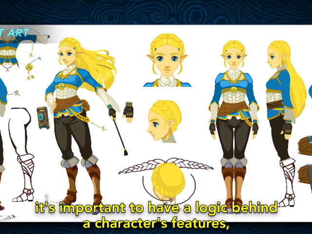 At First, Nintendo Couldn't Agree On How To Depict Zelda In Breath of the Wild