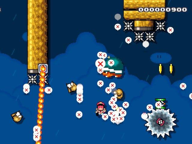 Legendarische Mario-speler bouwt enkele van de moeilijkste Mario Maker 2 niveaus die je ooit zult zien