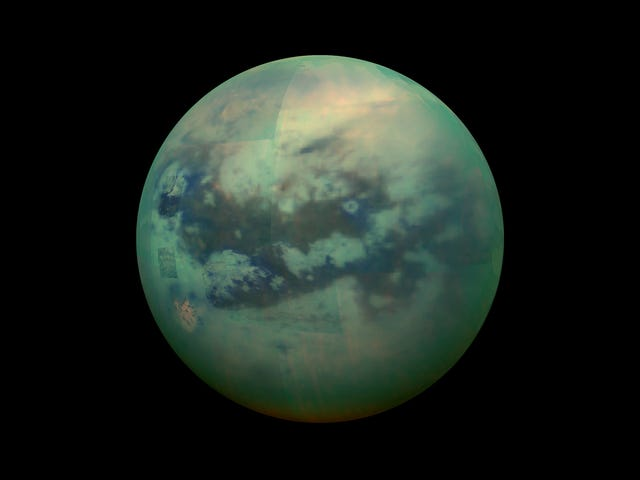 Intense Methane Rainstorms Carve Titan's Icy Surface