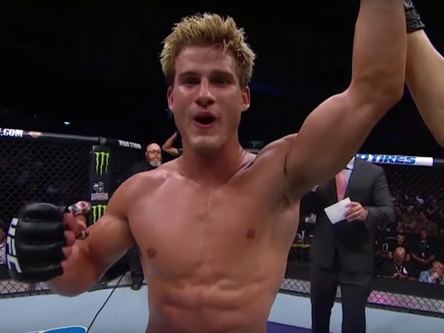 MMA Good Boy Sage Northcutt Wins By Knockout, Rambles About The Power Of Words