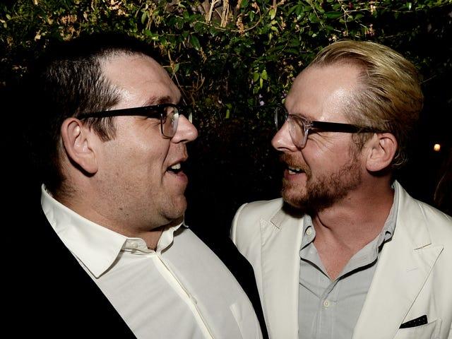 Simon Pegg i Nick Frost rozwalają duchy / żartują dla poszukiwaczy prawdy Amazon