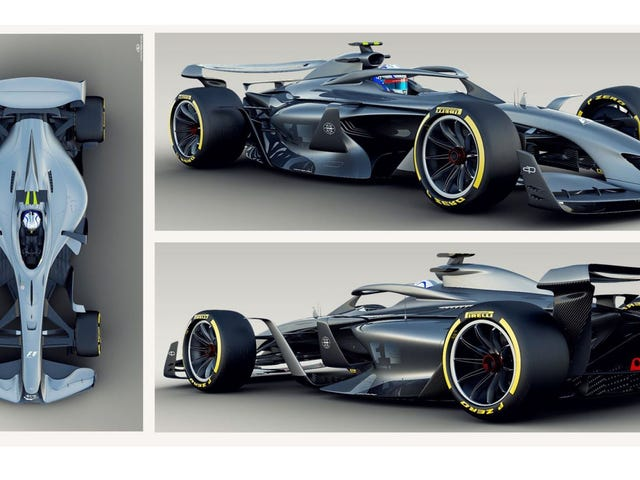 These Incredible F1 Future Concepts Aim to Make the Sport More Exciting