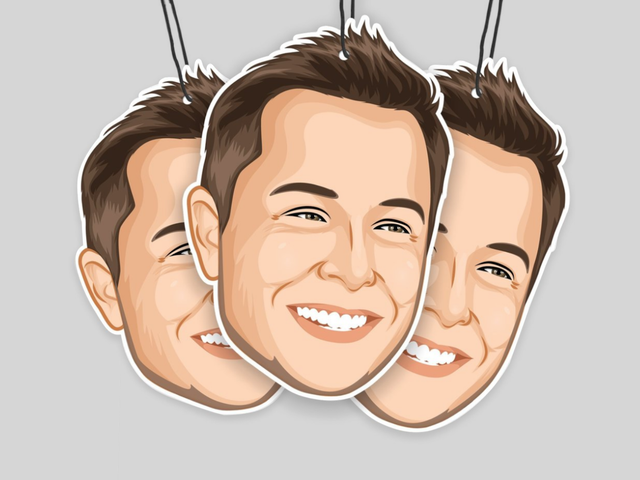 You Can Buy Elon Musk Air Fresheners That May Or May Not Smell Like Elon Musk