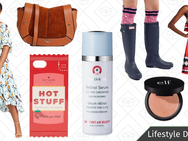Tuesday's Best Lifestyle Deals: First Aid Beauty, Tea Forté, Target, ASOS, and More