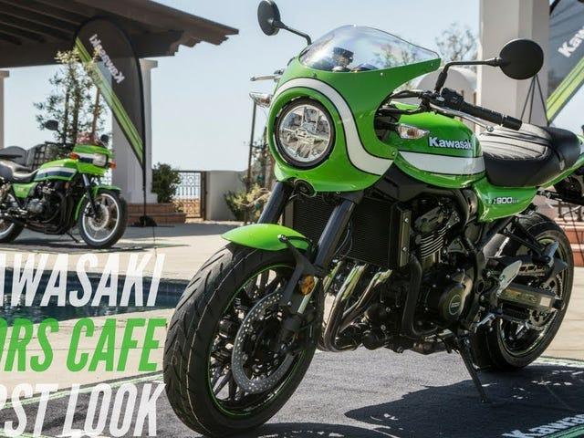 2018 Kawasaki Z900RS Cafe First Look