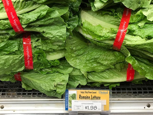 At Least One Person Has Died After Eating Romaine Lettuce Contaminated With E. Coli