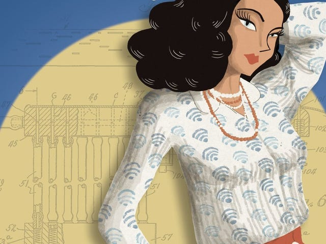 Celebrate Hedy Lamarr's Birthday With This Gorgeous Graphic Novelization of Her Life