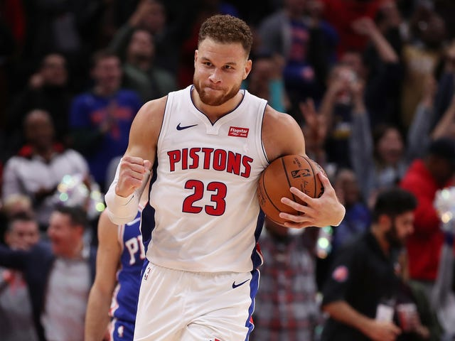 Blake Griffin Overwhelms The Sixers, In 2018