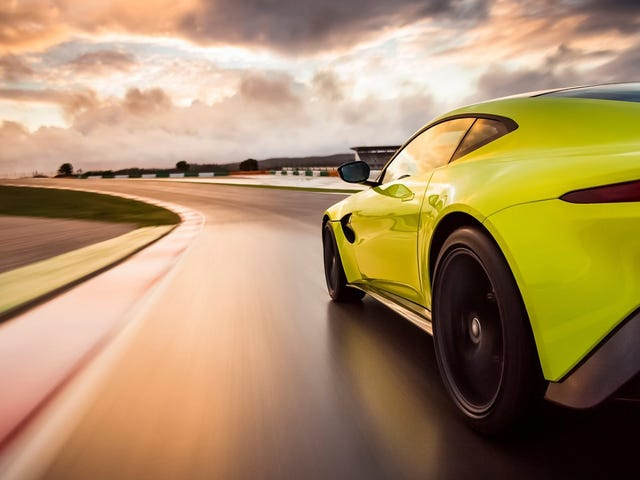 The Aston Martin Vantage's Awesome Highlighter Green Is Actually Called 'Lime Essence'