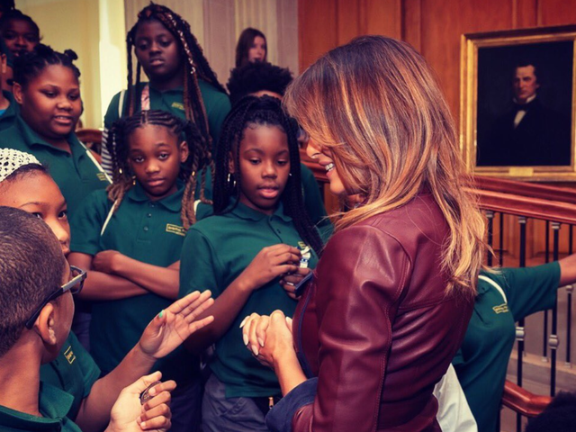 Being Best, Child Gives No Fucks About Meeting Melania