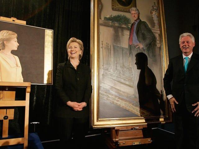 Sinabi ni Painter ang Monica Lewinsky sa Portrait ng Bill Clinton