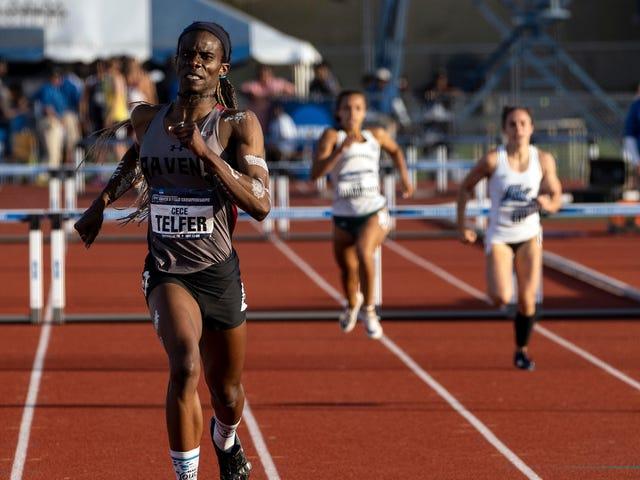 Национальный титул CeCe Telfer подчеркивает уловку-22 транс-спортсмена