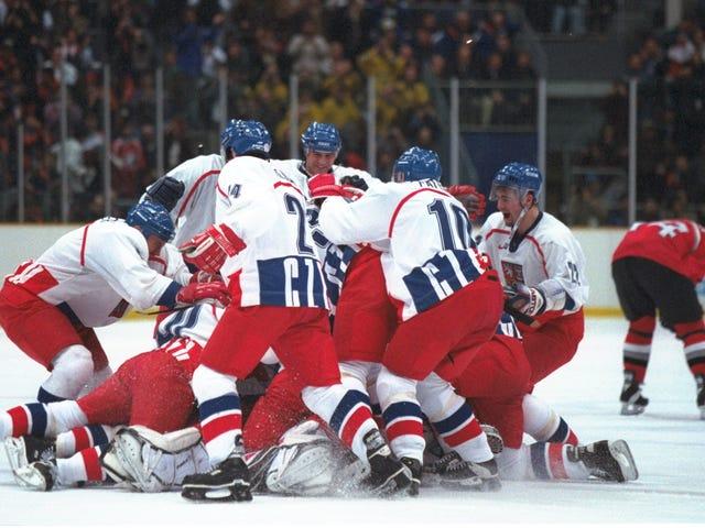 Die meisten Star-beschlagenen Schießerei in der Geschichte des Olympischen Hockey, 20 Jahre später