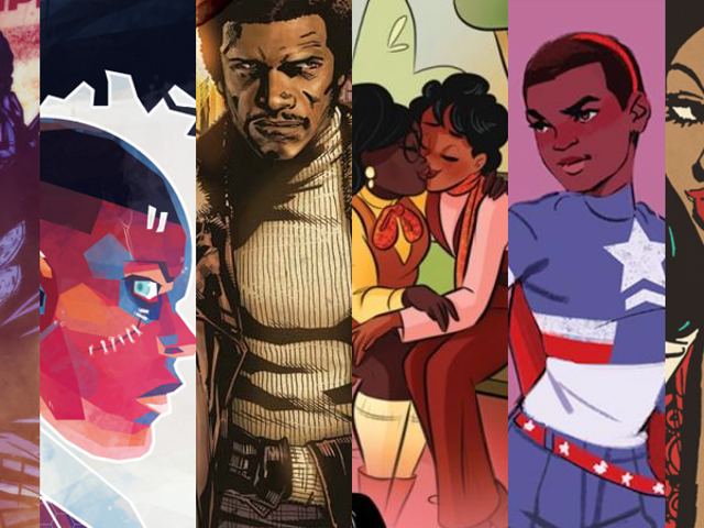 Black Panther and Beyond: 30 Comics You Should Read for Black History Month