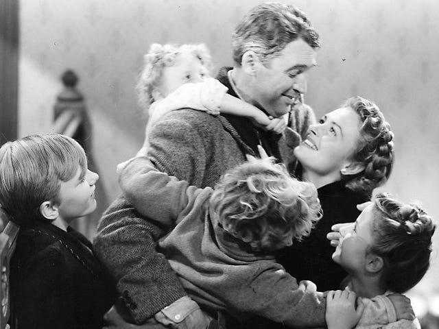 Onko Holiday Classic <i>It's A Wonderful Life</i> salaa (tai itse asiassa) Sci-Fi / Fantasy Movie?