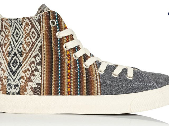 Save 20% On A Pair Of Inkkas: Handmade Travel-Inspired Sneakers (From $41)