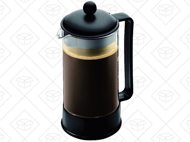 The Best Coffee Maker Is Also The Cheapest: Get a Bodum Brazil French Press For $9