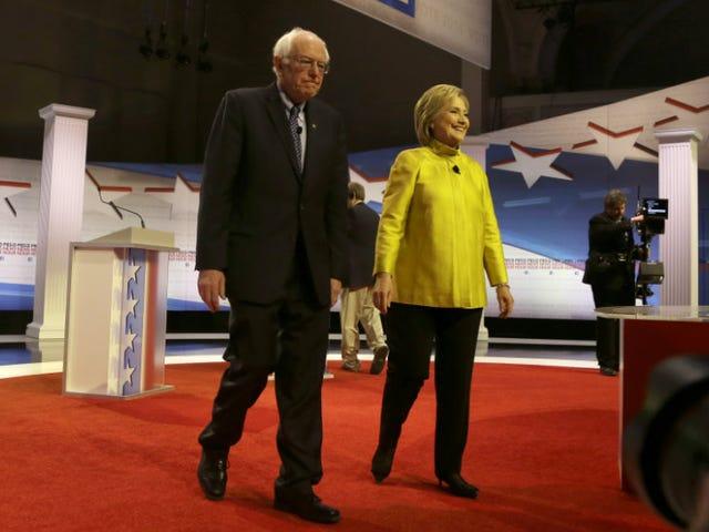 """Apparentemente, i candidati democratici non riescono a convincere la parola """"aborto"""" sul palco"""