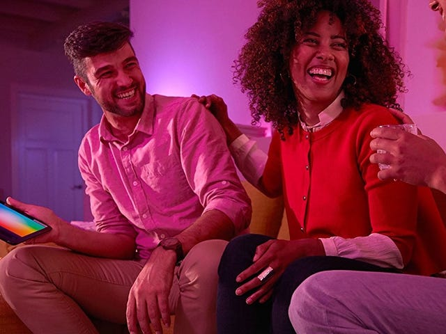 Upgrade to Smart Lighting For 2018 With $60 Off the Philips Hue Starter Kit
