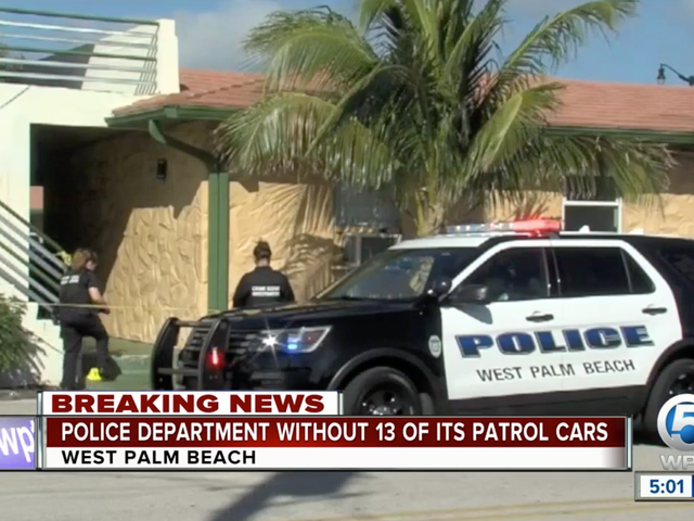 13 West Palm Beach Police Department Ford Vehicles Pulled For Possible Engine Failure In One Week