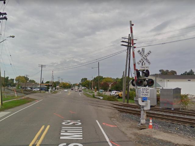 Train Blocks Michigan Railroad Crossing For Nine Hours