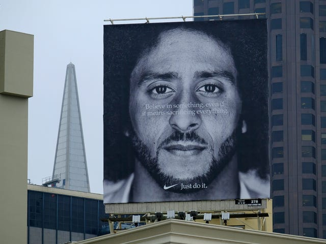 When You Hate a Black Man's Silent Protest So Much, You Ban Nike In Your City