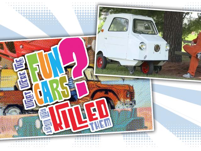 Я даю разговор о веселых автомобилях в музее Лейн, и вам нужно приехать Посмотреть это