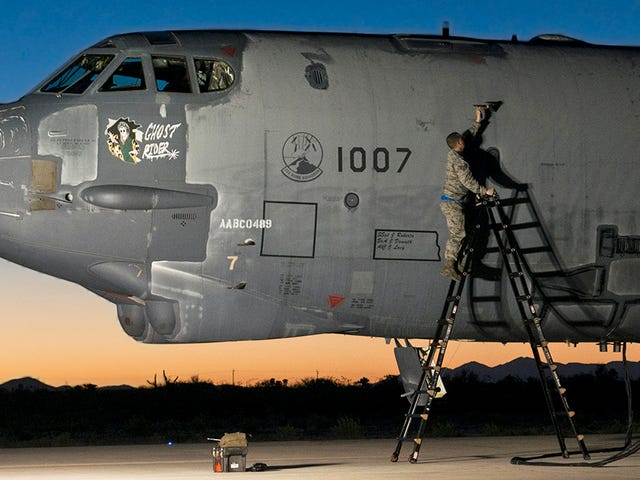 "The ""Ghost Rider"" B-52 Rises From The Grave To Ride Again"