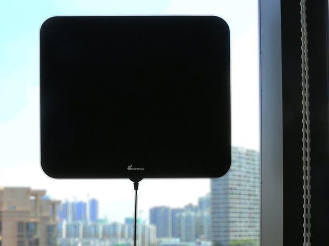 Trek in gratis HDTV-kanalen met deze $ 17 versterkte antenne <em></em>