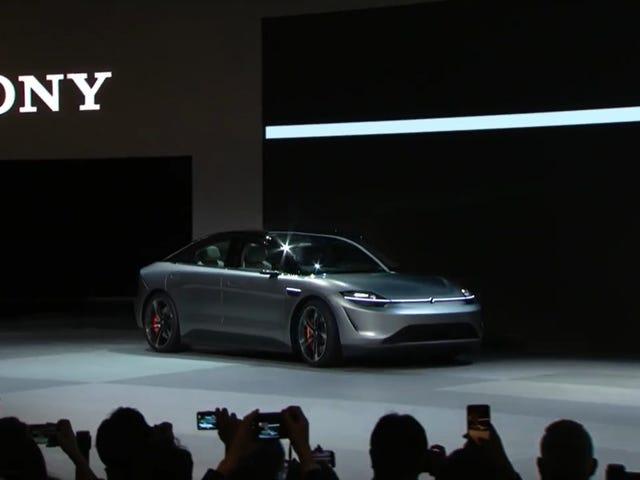 Sony hace autos ahora, supongo