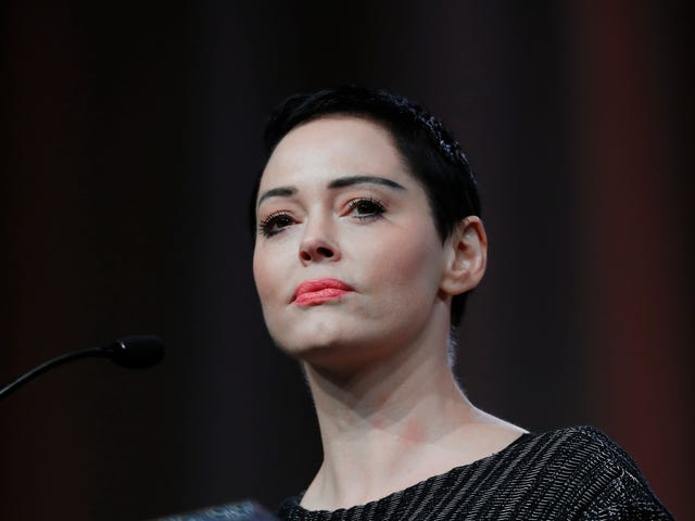 Suspiciously Timed Arrest Warrant für Rose McGowan über Felony Drug Charge ausgestellt