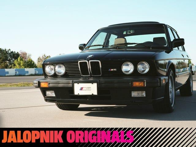 E28 BMW M5 ดั้งเดิมนั้นดีจริงๆ