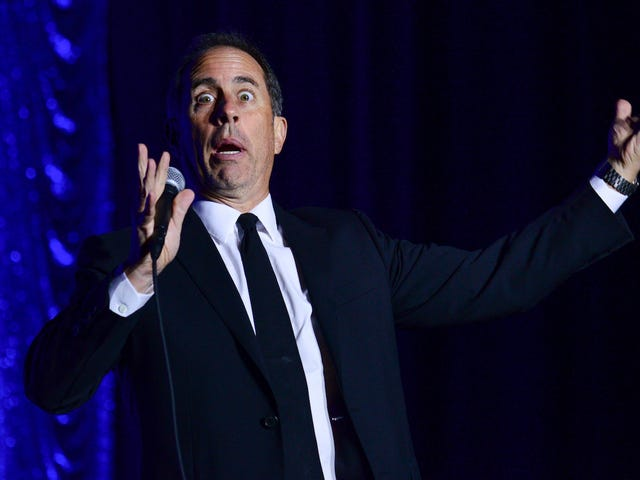 Jerry Seinfeld and Jimmy Kimmel: FEUDING???