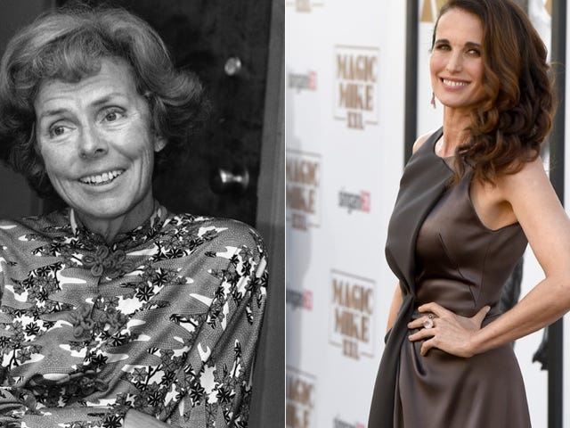 Andie MacDowell Will Star in a TV Show About Eileen Ford and the '70s Modeling World