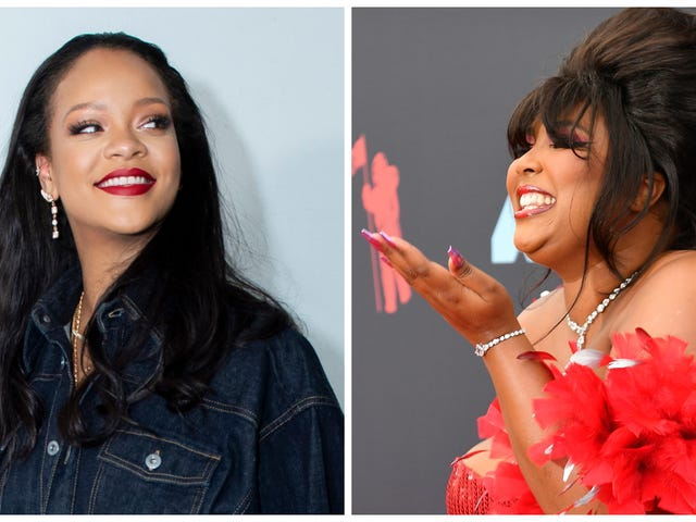Post-VMAs, Rihanna and Lizzo's Girl Crush Continues (So, We Gonna Get a Duet or Nah?)