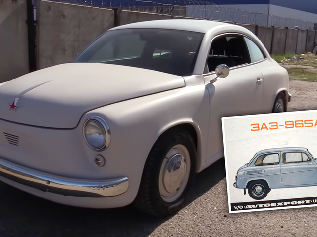 Some Crazy Russian Made a Beautiful Retro-Modern Zaz 965 Out of a Modern Volkswagen Beetle