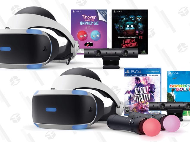 Preorders Are Live For Sony's New PlayStation VR Bundles