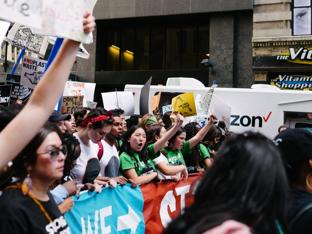 Why Families Were on Climate Strike This Friday
