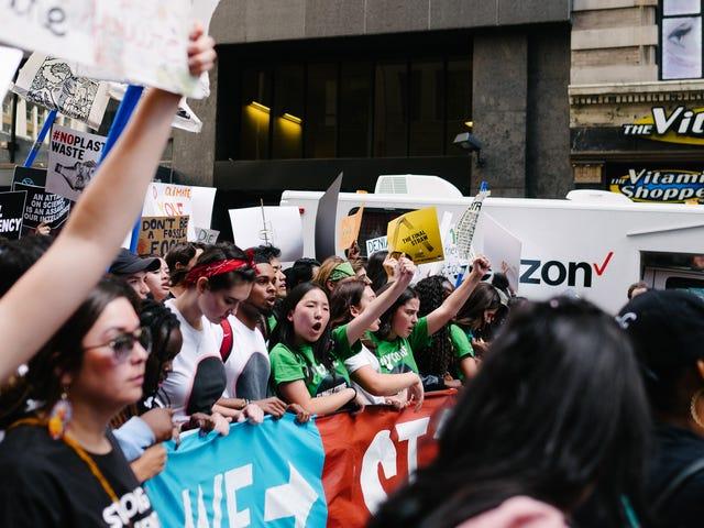 Γιατί οι οικογένειες ήταν στην απεργία του κλίματος αυτή την Παρασκευή