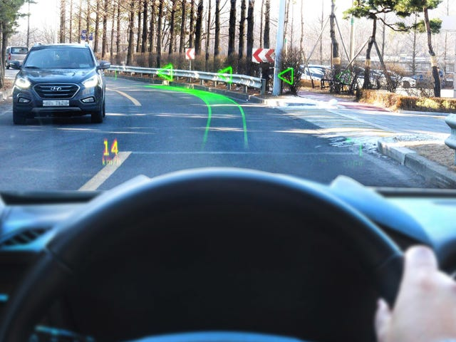 Hyundai's Future Heads-Up Displays Could Tell You More Than You Ever Wanted to Know