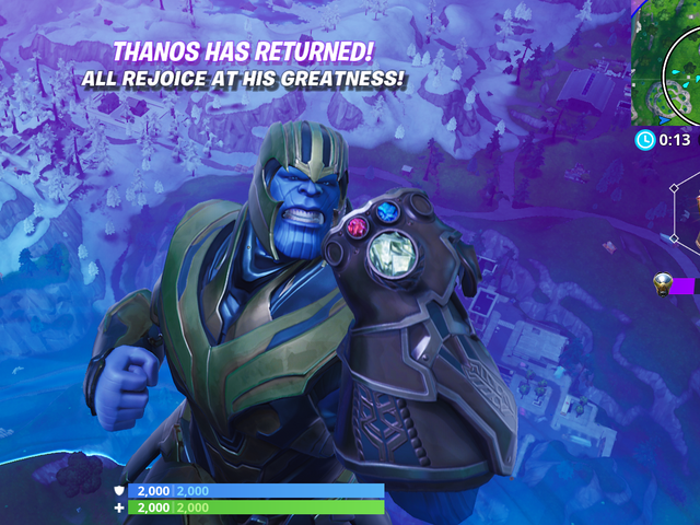 Fortnite's Endgame Mode Is Fun Whether You're Wielding Avengers Weapons Or Being Thanos