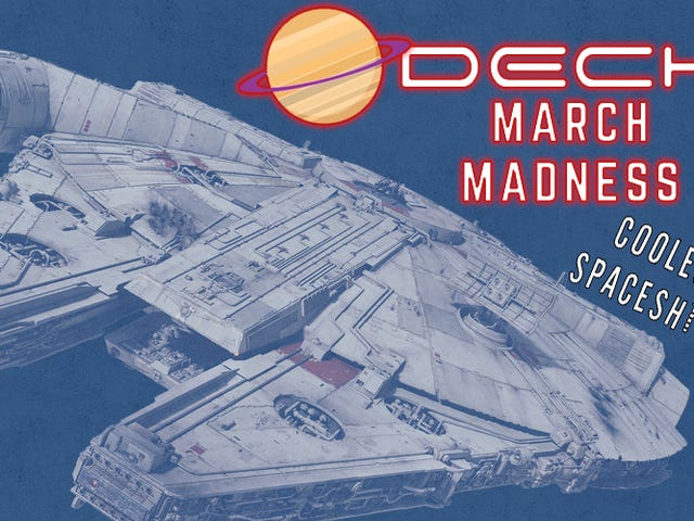 March Madness Coolest Spaceships Winner: Millennium Falcon