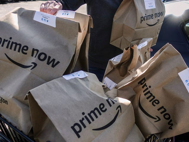 Το Amazon αναφέρει ότι σχεδιάζει να επεκτείνει ολόκληρα τα τρόφιμα λόγω του ότι είναι