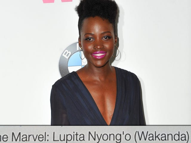 British Airways In-Flight Dergisi Görünüşe Göre Lupita Nyong'u Aslında Wakanda'dan Sanıyor