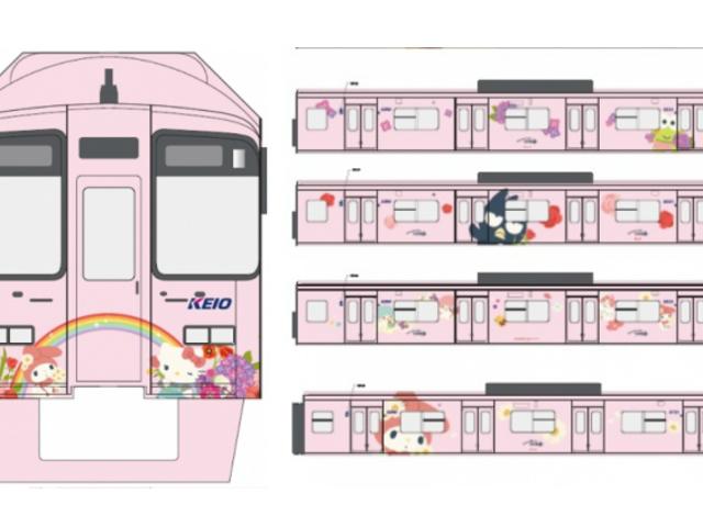 Офіційні поїздки Hello Kitty для Токіо