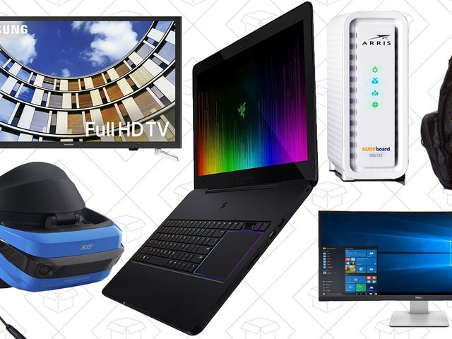 Save On Laptops, Monitors, Modems, and More From Amazon's One-Day Tech Sale