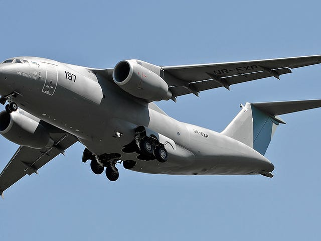Saudi Arabia Is Buying 30 Of These New Ukrainian-Built Military Cargo Planes