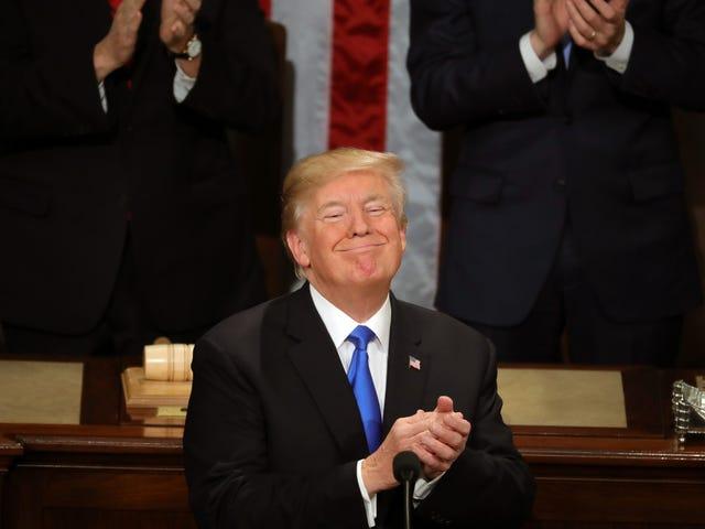 Ang Estado ng Union ng Trump Nagbigay sa Akin ng Buhay ... Hindi isang Buhay na Gusto Ko, ngunit Isang Buong Buhay Gayunman