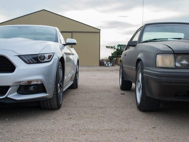 Mustangs boostés.