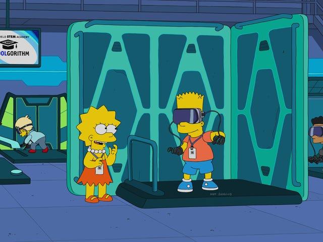 Uno stupefacente Simpson atonale abbandona il profondo per lo STEM